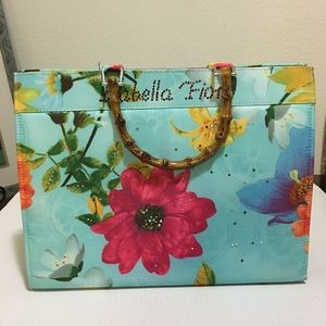 Isabella Fiore Floral Bamboo Tote